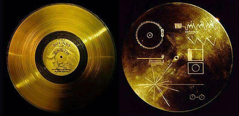 دیسکی که به فضا پرتاب شد